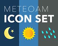 MeteoAM icon set