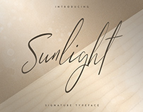 Sunlight - Signature typeface
