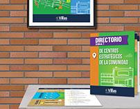 Directorio y mapas para centros villas