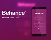 Behance Generatif Redesign