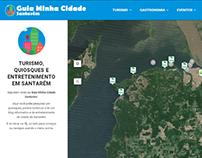 Wordpress website: Guia Minha Cidade