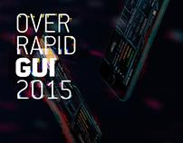 OverRapid GUI 2015