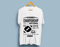 Men New T-Shirt for Football Likers