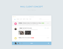 Mail Machine - Concept mail client. Mail list