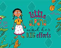 Little Alpana and Her Big Efforts