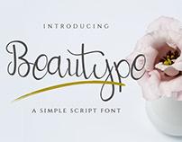 Free Beautype Script Font