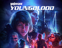 Wolfenstein: Youngblood Key Art Process