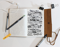 10 days of Creative Hand-Lettering