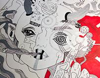2-COLOR ART (Illustration)