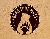 Bear Foot Mats - Logo Concept