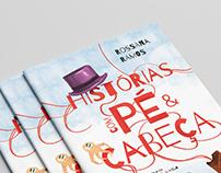 """Livro infantil """"Histórias com pé & cabeça"""""""