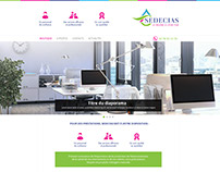 Webdesign E-commerce / E-shop : Serie 3