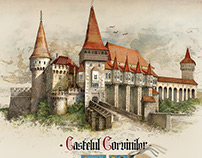 Corvins' Castle - Transylvania, Romania