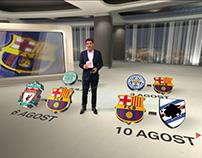 PRETEMPORADA FC BARCELONA 2017