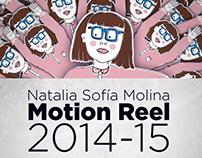 Motion Reel 2014-15