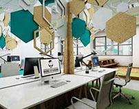 Duke Studios Leeds - Cardboard Offices