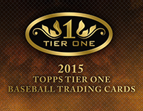 2015 Topps Tier One Baseball Trading Cards