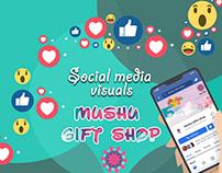 Social Media (mushu gift shop)