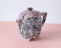 Fantasy tea set