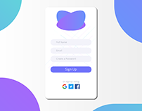 Day 001 of My Daily UI Challenge
