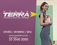 TV Ad for Autumn Winter Campaing 2016 of Mundo Terra