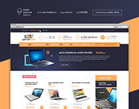Интернет-магазин по продаже ноутбуков (продается)