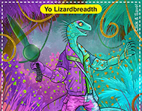 Yo Lizardbreadth Card