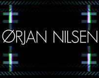 Ørjan Nilsen logo visuals