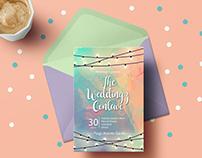 Invitation card designs for Weddingz Conclave