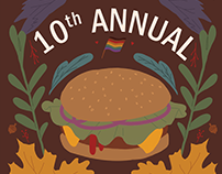 10th Annual BBQueer Poster