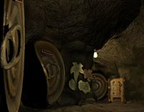 Subterranean Hallway