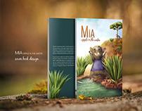 """""""Mia"""" Cover Book Design"""