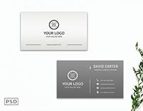 Free Professional Elegant Modern Business Card Template
