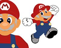 Game Asset Design - Old Mario