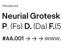 Neurial Grotesk