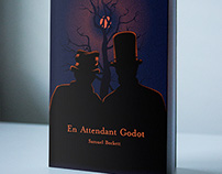 En Attendant Godot ( Waiting for Godot ) Book Cover
