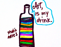 Art, is my drink
