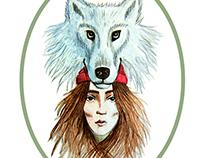 Hos Rødhette og ulven