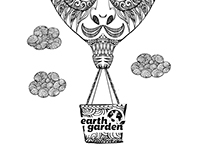Earth Garden - T-shirt Design
