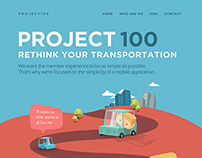 Project100 work in progress