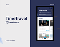 TimeTravelApp | UX/UI design