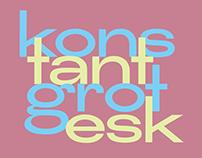 Konstant Grotesk | Free display typeface
