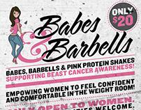 Babes & Barbells Flyer