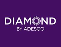 New logo & Packaging – Diamond by Adesgo
