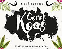 CoretKoas Font