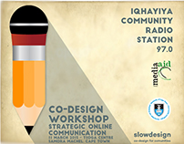 Co-design support for Iqhayiya Community Radio Station