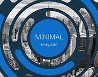 Minimal Presentation template