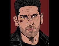 The Punisher (DD) digital illustration
