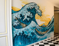HOKUSAI / Office Decor