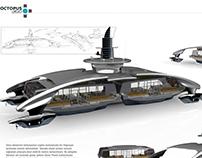 Conceptual Bosphorus Passenger Boat Design